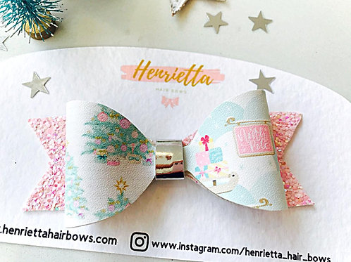 Christmas Tree Pastels Bow