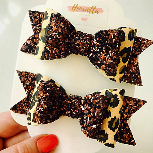 Chocolate and Leopard Print
