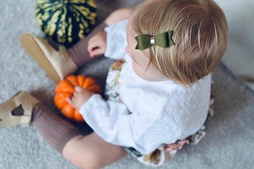 Little Miss Evie D Autumnal Bow Set