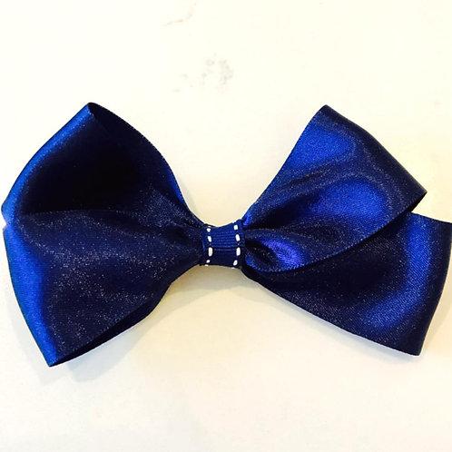 Blue With White Pin Stripe