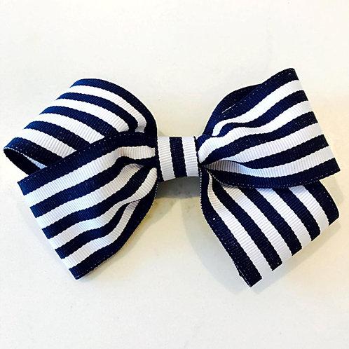 Navy & White