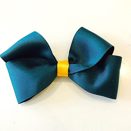 Green & Gold Bow