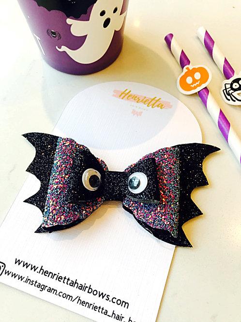 Glitter Purple Bat Eyes