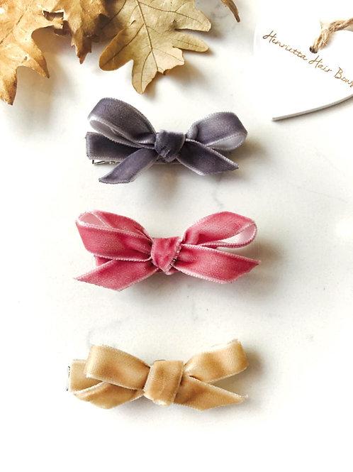 Velvet Mini Bows