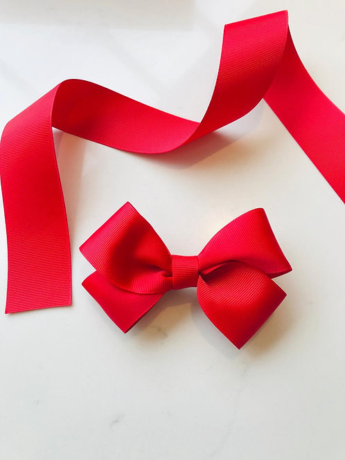 Red Twist Bow