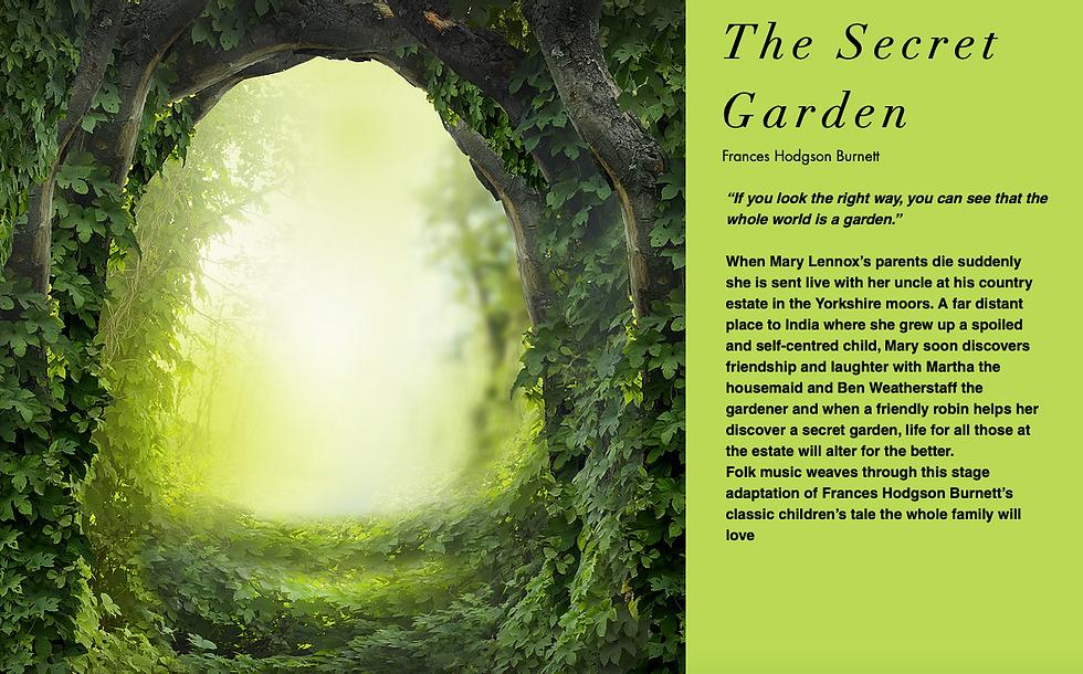 The Secret Garden 18 Aug St Mary's Churc