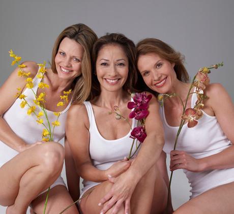 3 Smiling Women