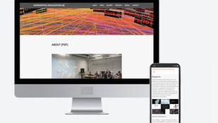Vislab Website Design
