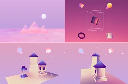 3D Landscapes + Art