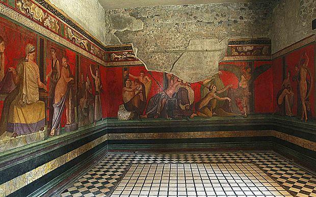 Casa dei Misteri, Pompeii