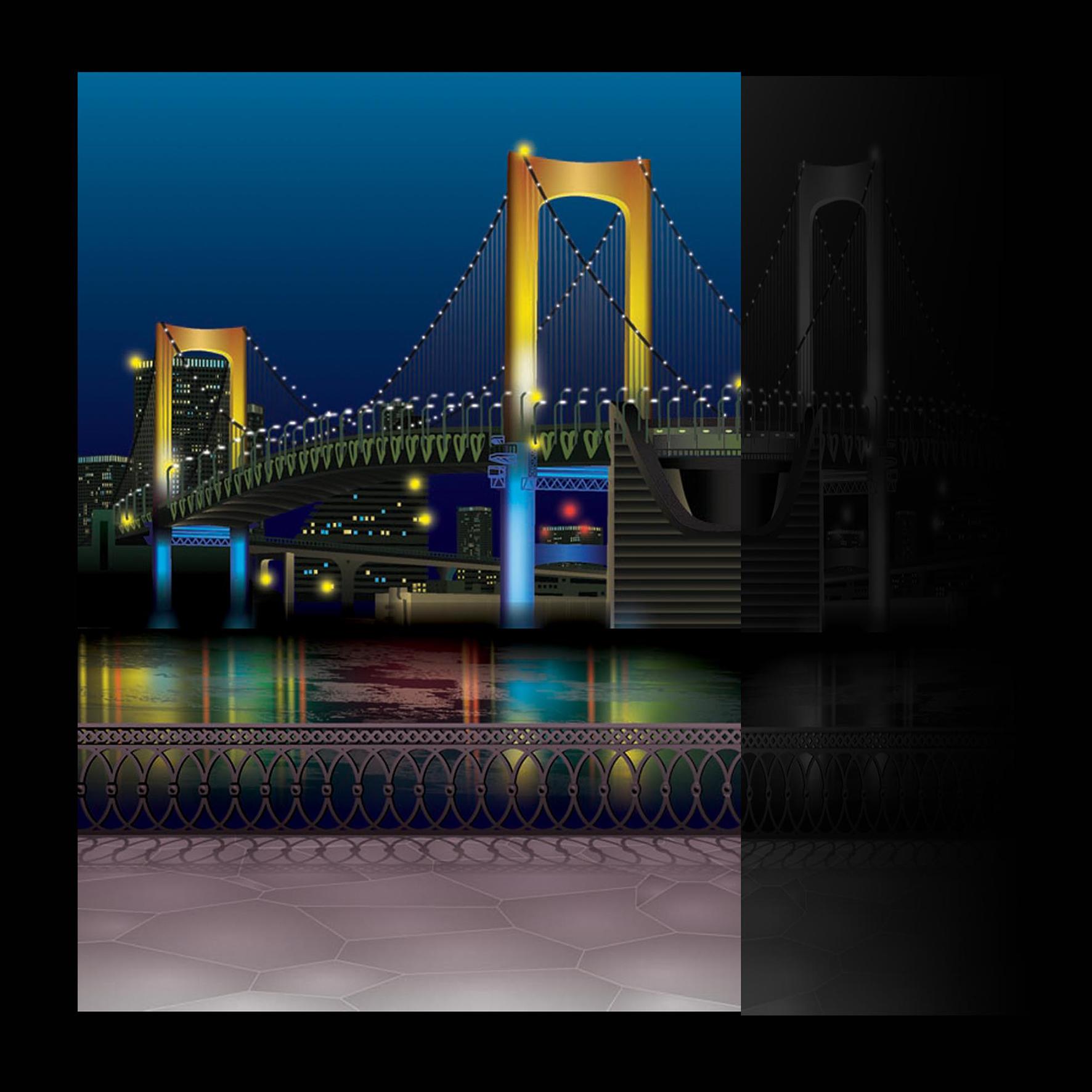 7_векторная отрисовка backgrounda для японских карикатур