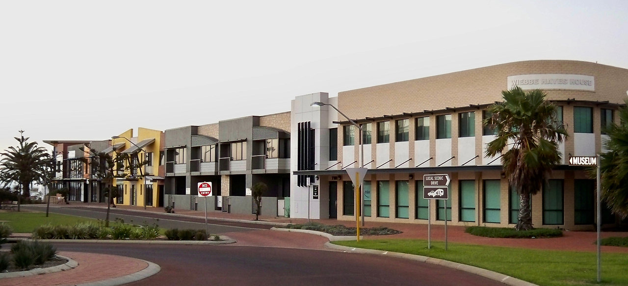 Commerical properties in Geraldton's Marina Business Centre with formwork by MFC