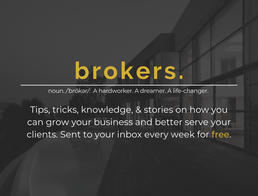 Brokers. Newsletter: What to expect