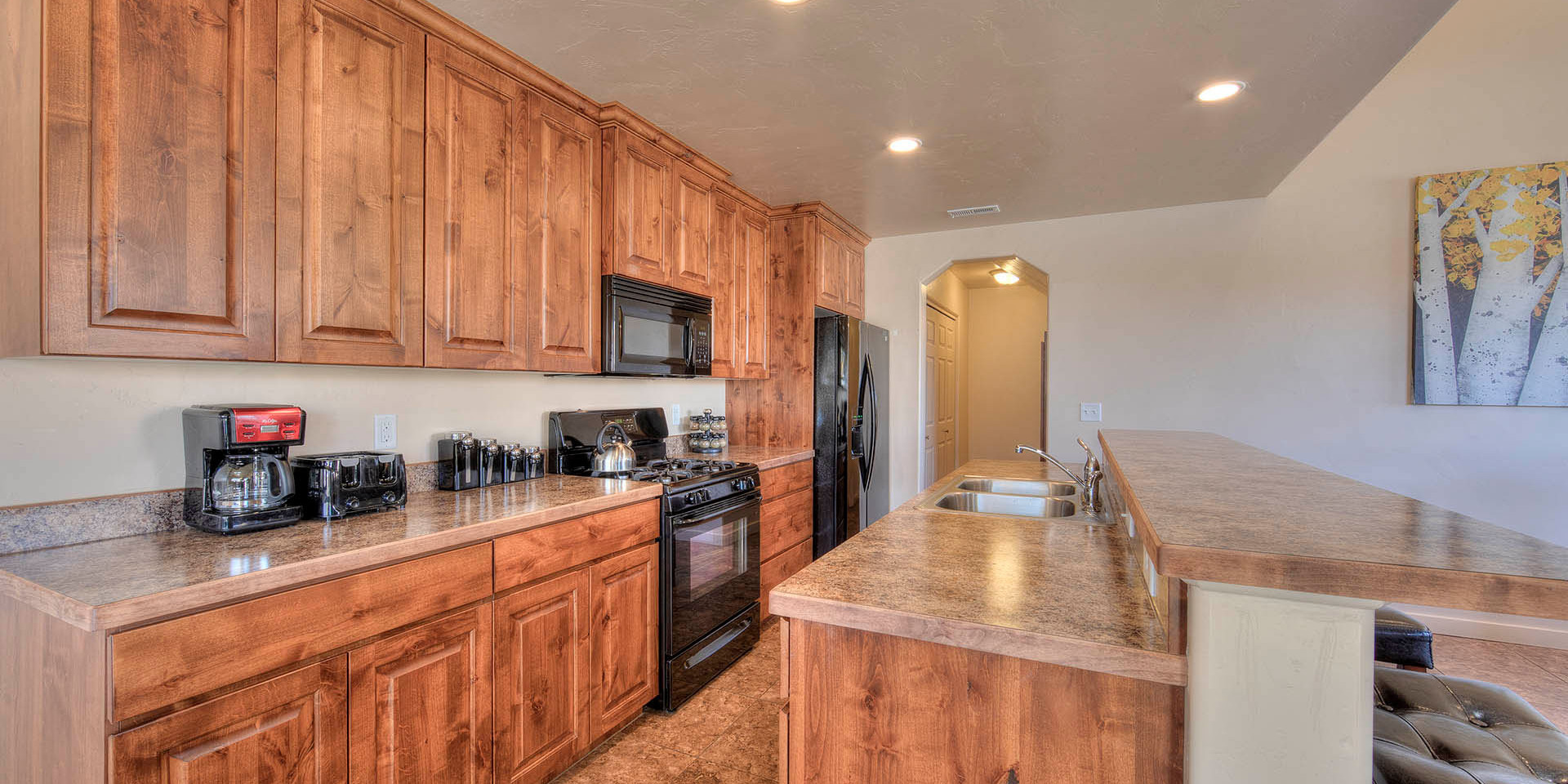 airbnb kitchen Moab