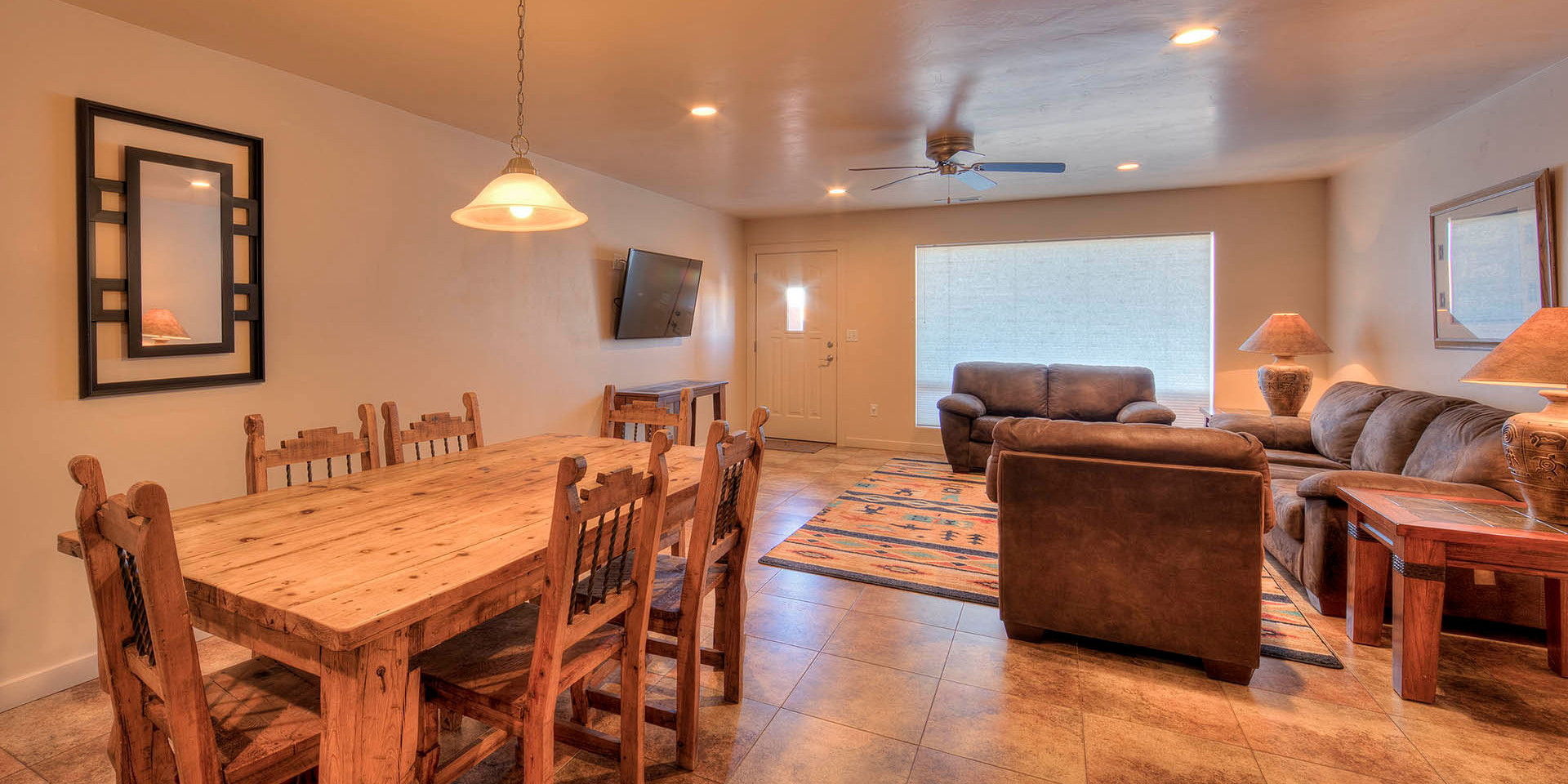 Dining Area Rim Vista Moab