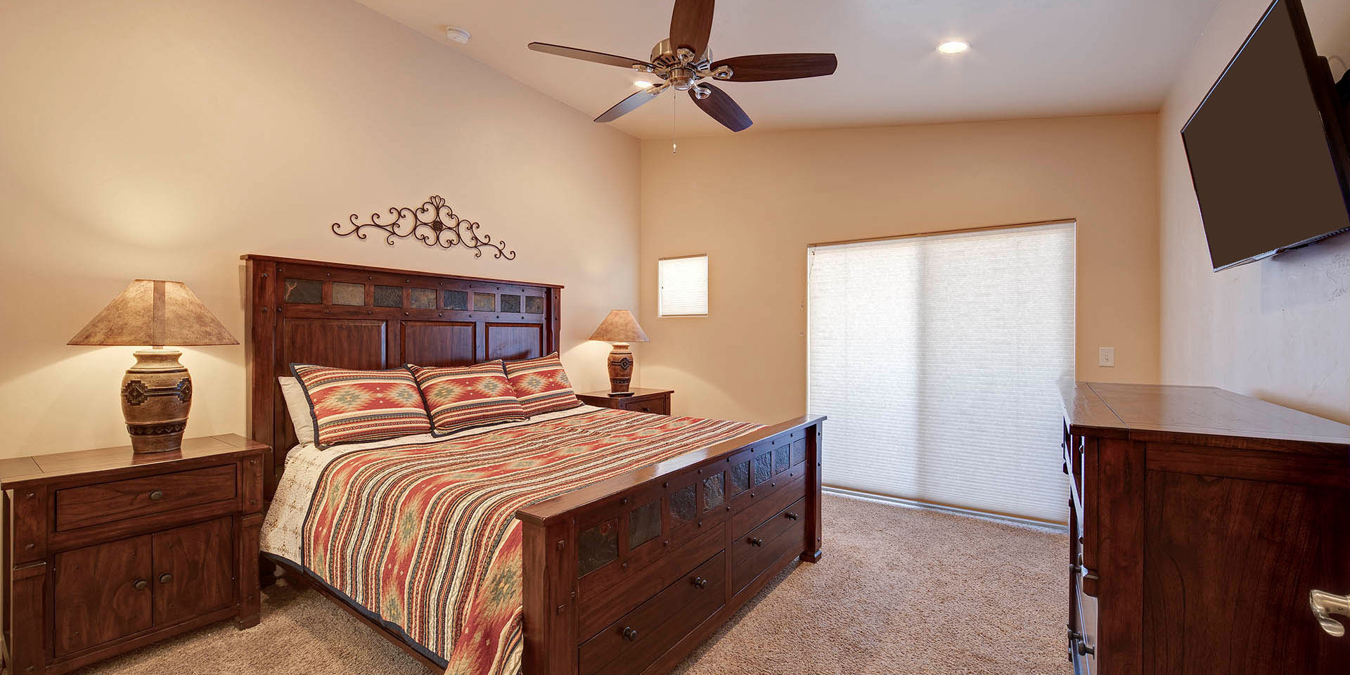 Master Bedroom Moab Utah