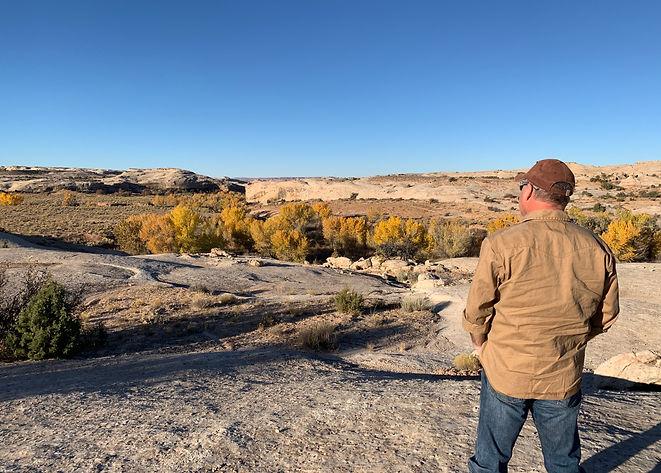 Ten mile canyon overlook