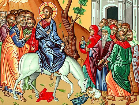 Palm Sunday Bulletin- 4.12.20