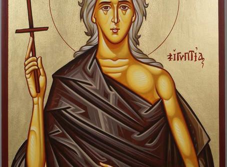 Sunday Bulletin 4.05.20- Sunday of Saint Mary of Egypt