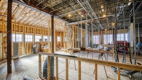 kitchen area looking SE