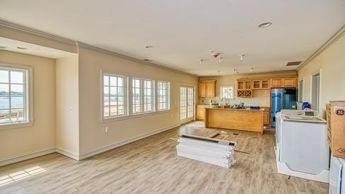 cottage thre flooring - lower level