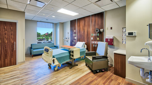 New tower patient room