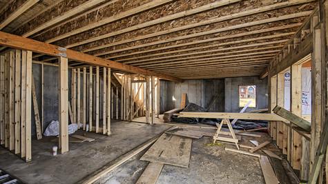 cottage three interior lower level view one