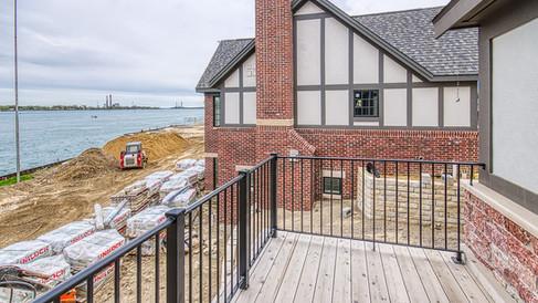 cottages- master bedroom deck railing