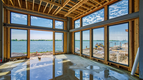 main banquet room windows installed - vi