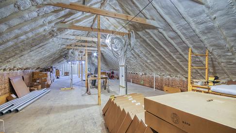 center section attic