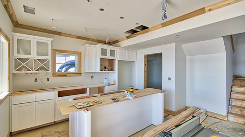 cottage one lower level kitchen  cabinet