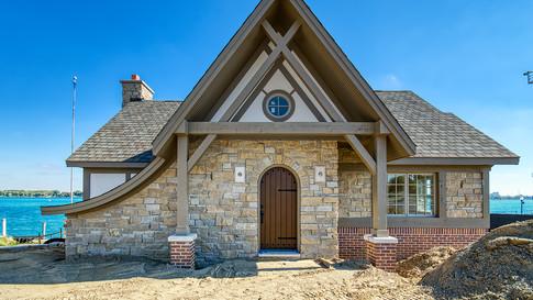 cottage three W side