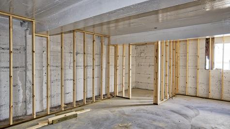 basement rm framing