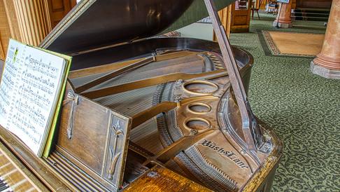 Bush & Lane piano detail