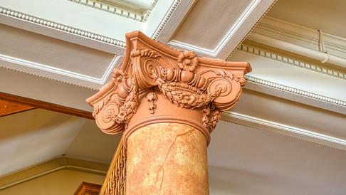 top of column detail