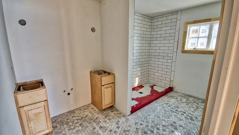 cottage three bath off foyer-tile