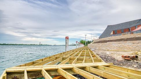 boardwalk- built up