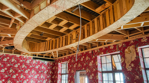 main bldg. private dining rm ceiling