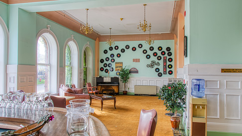 lounge off of ballroom