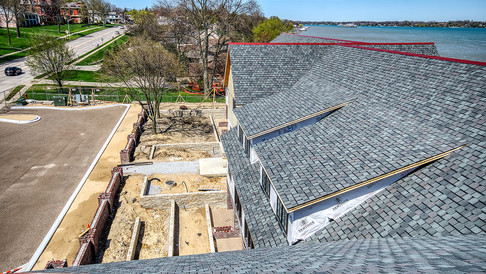 view from HVAC area looking N