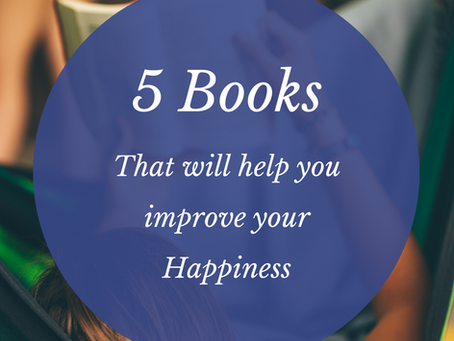 5 Books that will help you improve your happiness