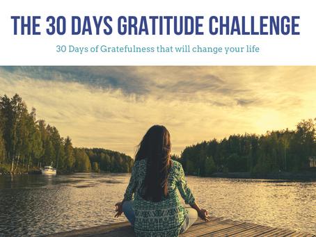 30 Days Gratitude Challenge