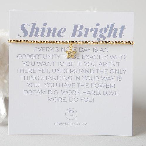 Shine Bright Bracelet, Star