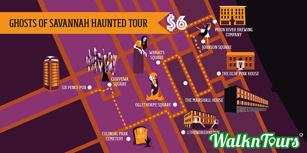 with price Map of Ghosts of Savannah Hau