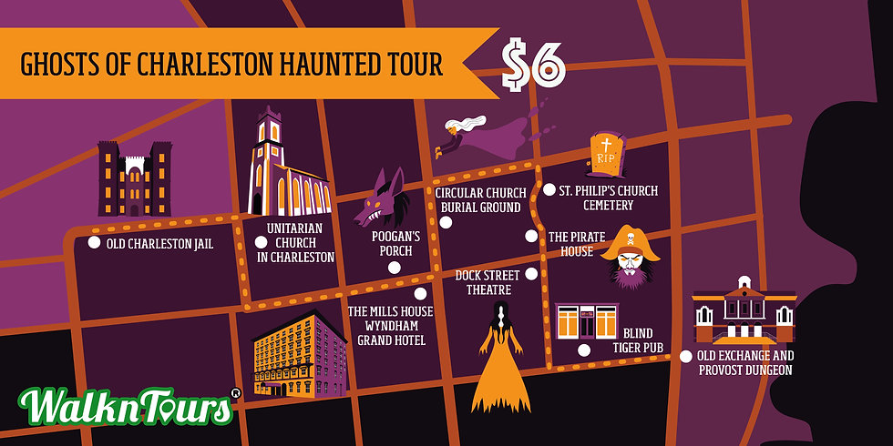 with price Map of Ghosts of Charleston H