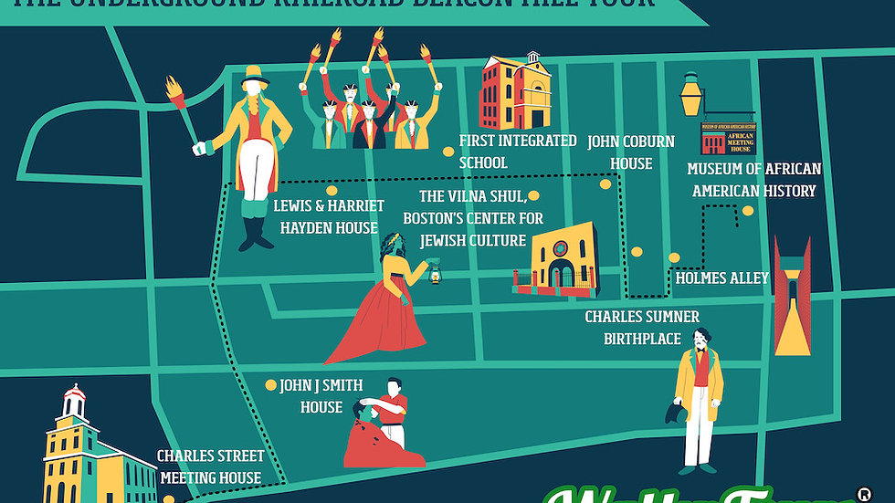 The Underground Railroad Beacon Hill Tour