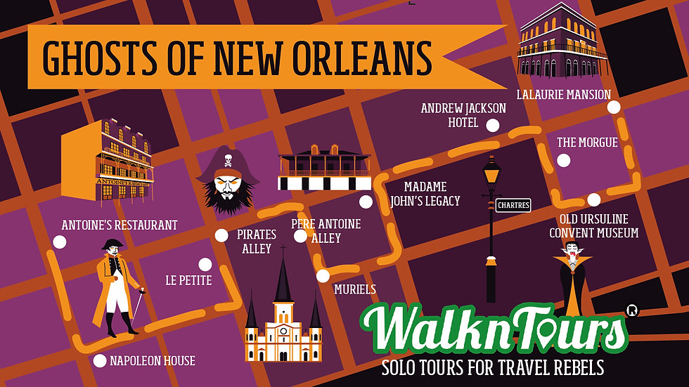 Ghosts and Vampires of New Orleans Haunted Tour