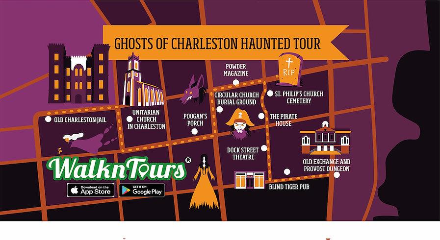 April 20 Map of Ghosts of Charleston Hau