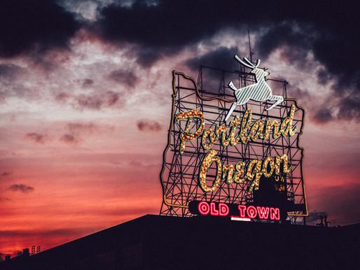 The Portland Stag Sign, Weird and Wonderful Portland