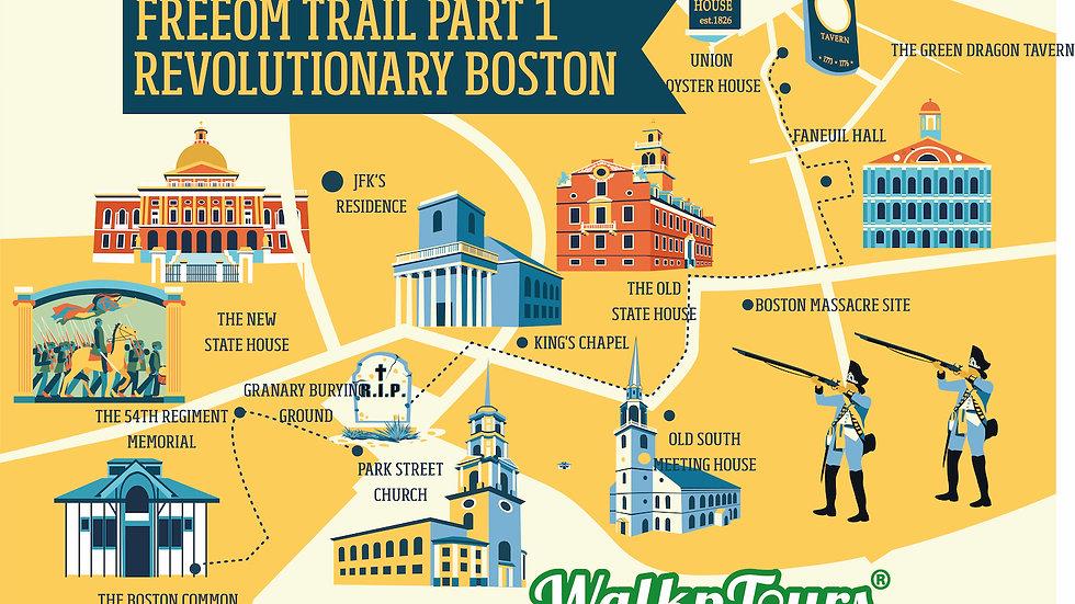 The Freedom Trail Part1 Revolutionary Boston